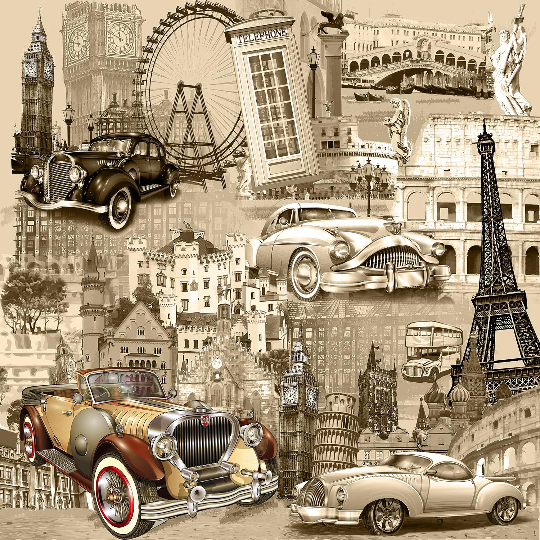 Зайчиками, ретро города открытки