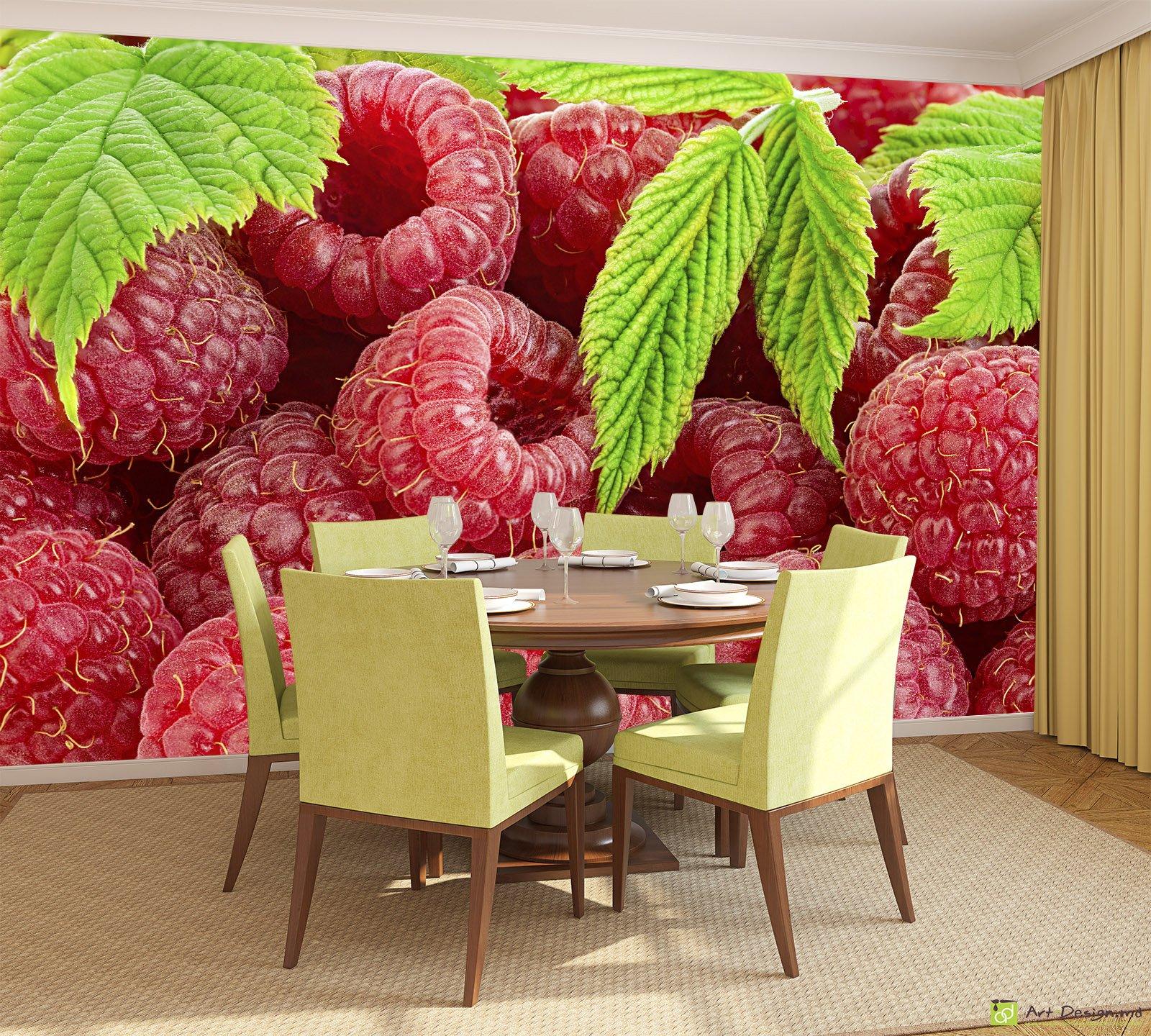 нем обои с ягодами для стен это